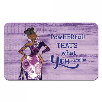 PowHERful! That's What You Are! Interior Floor Mats --Kiwi McDowelll