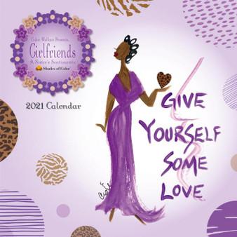 2021 Girlfriends Wall Calendar by Cidne Wallace