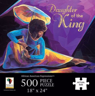 Praise Dancer With Umbrella Puzzle (500 pieces) - Annie Lee