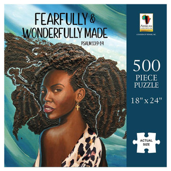 Wonderfully Made Puzzle (500 pieces) - Annie Lee