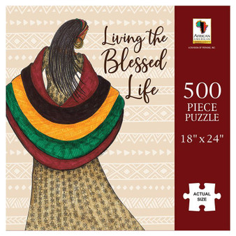 Living The Blessed Life Puzzle (500 pieces) - Annie Lee