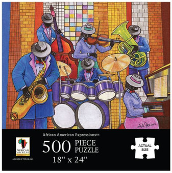 Jazz Puzzle (500 pieces) - Annie Lee