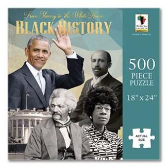 Black History Puzzle (500 pieces) - Annie Lee