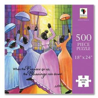 When Praises Go Up Puzzle (500 pieces) - Annie Lee