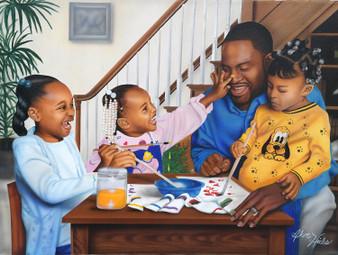 Daddy's Little Girls (500 Pieces)