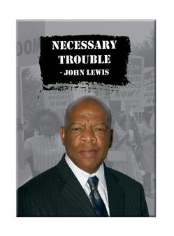 Senator John Lewis Necessary Truth - Magent