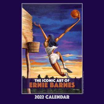The Iconic Art of Ernie Barnes 2022 Wall Calendar