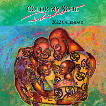 """Color My Soul - 2022 Wall Calendar - Larry """"Poncho"""" Brown"""