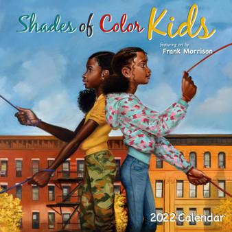 Shades of Color Kids 2022 Calendar