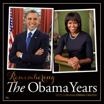 The Obama Years 2022 Wall Calendar