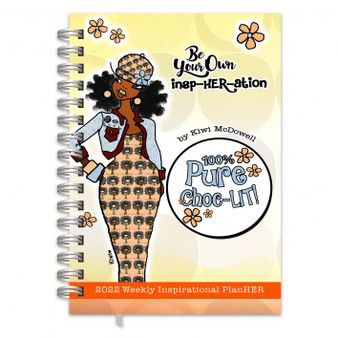 """""""Be Your Own InspHERation"""" 2022 Inspiration Weekly Planner by Kiwi McDowell"""