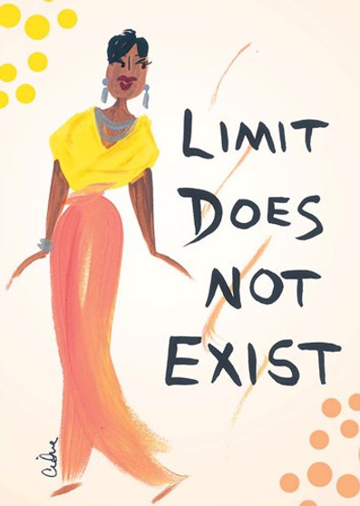 Limit Does Not Exist Magnet - Cidne Wallace
