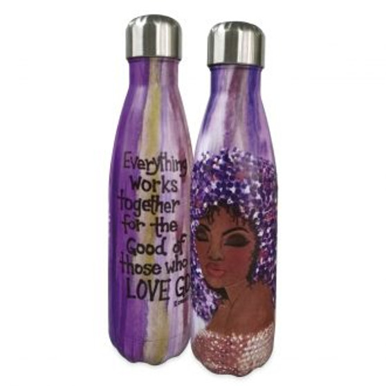 "Everything Works Together Stainless Steel Bottles-Sylvia ""GBaby"" Cohen"