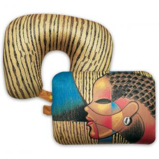 """Composite Of A Woman Convertible Neck Pillow-- Larry """"Poncho"""" Brown"""