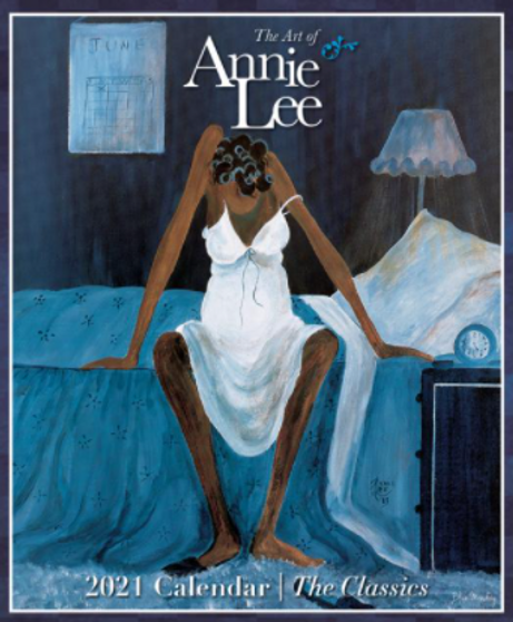 2021 The Art of Annie Lee 12 x 12 Wall Calendar