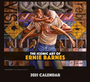 2021 The Iconic Art of Ernie Barnes 12 x 12 Wall Calendar