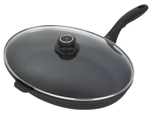 XD Oval Fry Pan with Lid - 38 cm x 26 cm - Cover