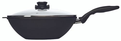 XD Wok with Lid and Rack - 30 cm (4.6 L) - Side