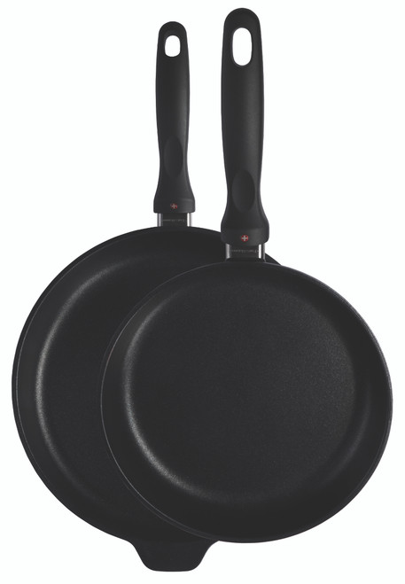 XD 2 Piece Set: Fry Pan Duo - 24 cm & 28 cm - Cover
