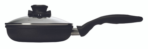 XD Induction Fry Pan with Lid - 20 cm - Side Shot