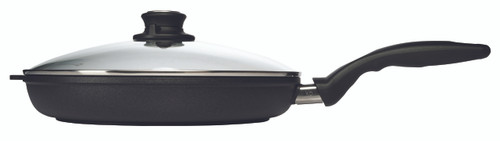 XD Induction Fry Pan with Lid - 28 cm - side