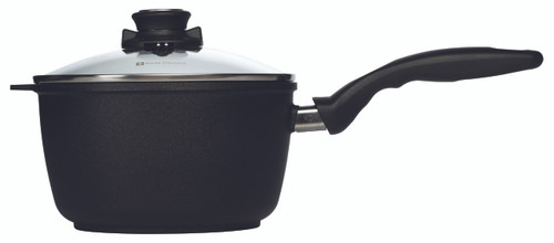 XD Induction Sauce Pan with Lid - 20 cm (3 L) - Side
