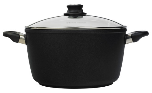 XD Induction Stock Pot with Lid -28 cm (8 L) - Side Shot