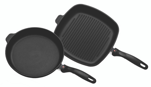 XD Induction 2 Piece Set: Fry Pan and Grill Pan