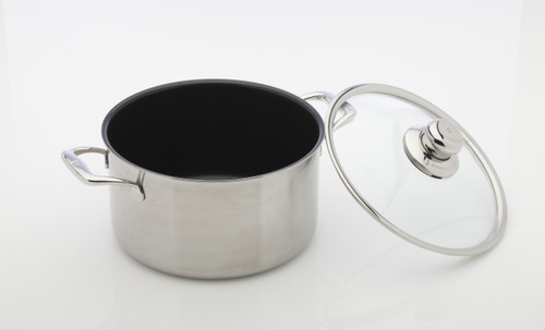 Nonstick Clad - Dutch Oven with Lid  24 cm - front