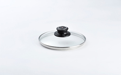"7"" TEMPERED GLASS LID - 18CM - Cover"