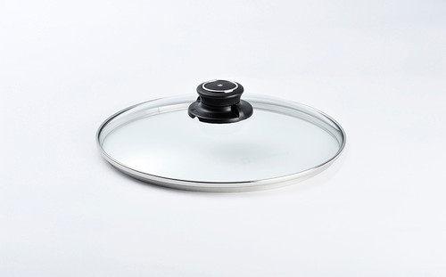 "9.5"" TEMPERED GLASS LID - 24CM - Cover"