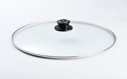 "14"" TEMPERED GLASS LID - 36CM  - Cover"