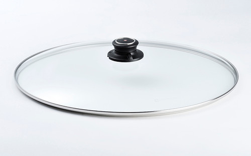 "10.25"" x 15"" TEMPERED GLASS LID FOR OVAL FISH PAN 26x38CM   - Cover"