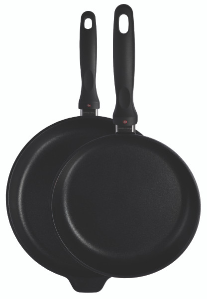 XD Induction 2 Piece Set: Fry Pan Duo - 24CM & 28CM - Front View
