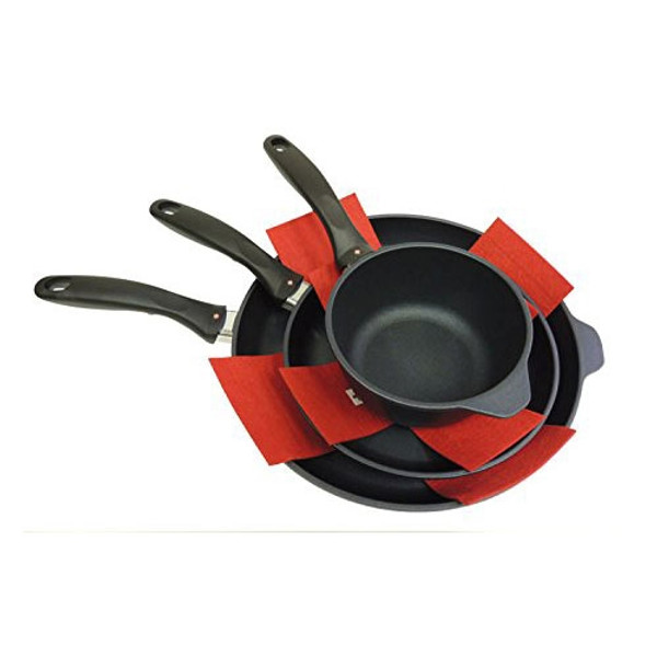 SWISS DIAMOND 5 Piece Felt Pan Protectors - life 1
