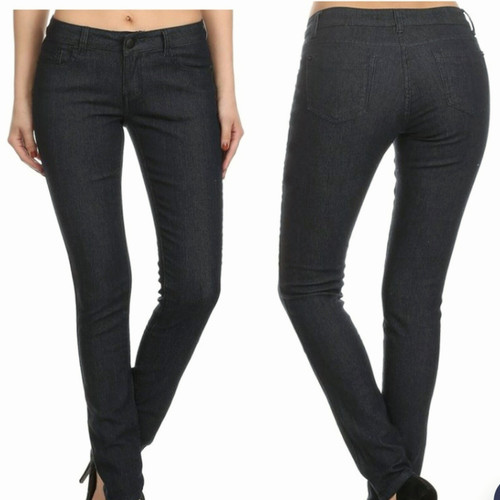 Dark Low Rise Jeans