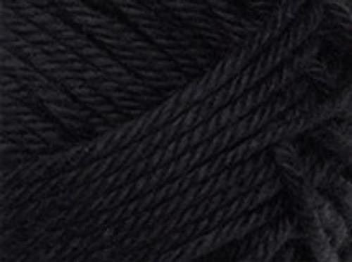 02 Black Cotton Blend