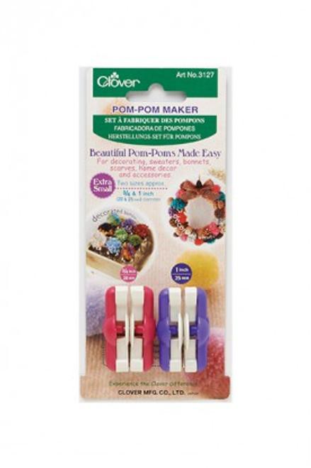 Clover Pom Pom Maker - Extra Small Set
