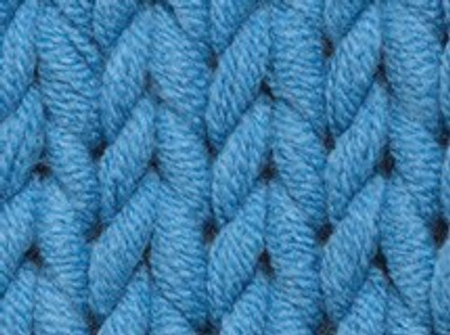 2 French Blue Soft Cotton Chunky