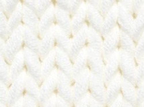 3 Optical White Soft Cotton Chunky