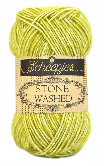 Scheepjes Stone Washed - Lemon Quartz 812