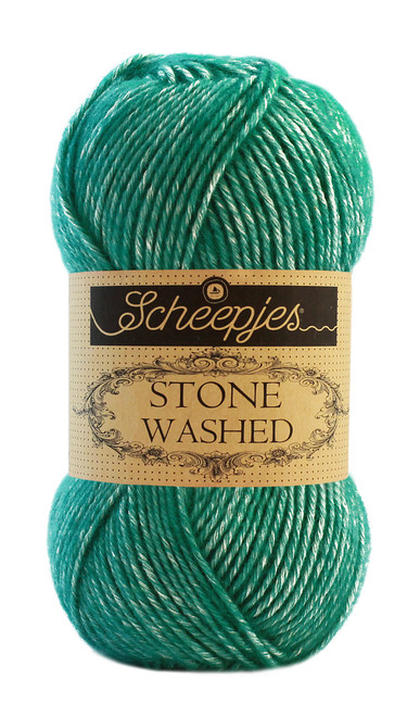 Scheepjes Stone Washed -Malachite 825