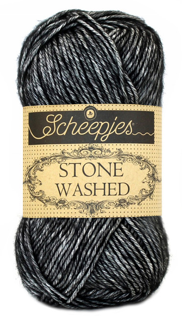 Scheepjes Stone Washed -Black Onyx 803