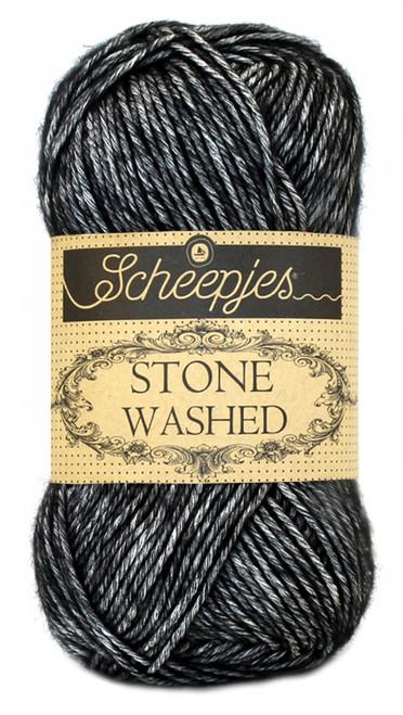 Scheepjes Stone Washed -Black Onyx 803