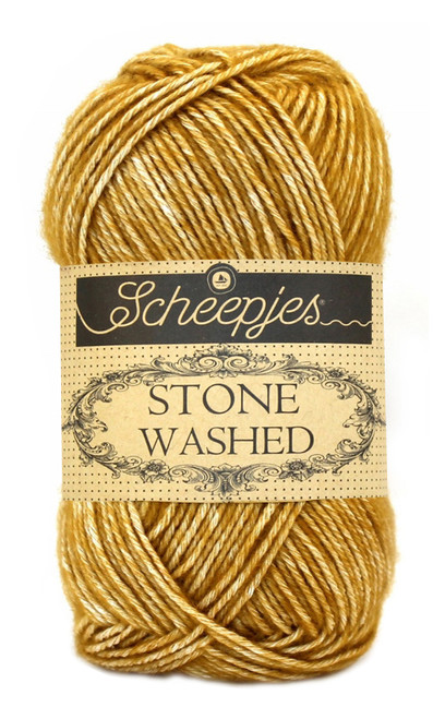 Scheepjes Stone Washed - Yellow Jasper 809