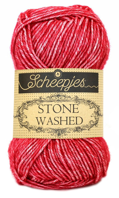 Scheepjes Stone Washed - Red Jasper 807