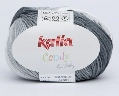 662 Grey-White Candy