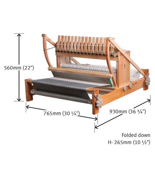 "Sixteen Shaft Table Loom 61cm/24"""