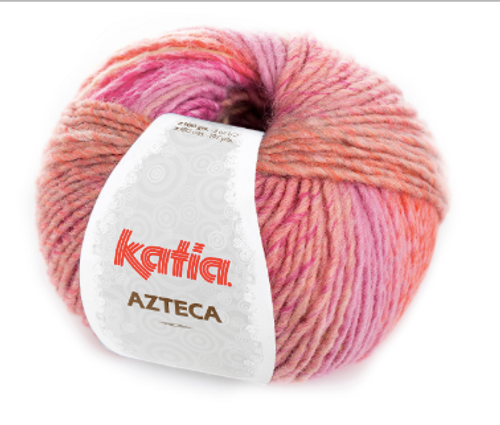7852 Rose-Beige-Orange Azteca