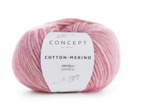 119 Mauve Cotton Merino